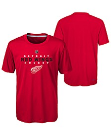 Detroit Red Wings Avalanche T-Shirt, Big Boys (8-20)