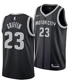 Nike Men's Blake Griffin Detroit Pistons City Swingman Jersey 2018