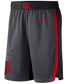 Nike Men's Portland Trail Blazers City Swingman Shorts