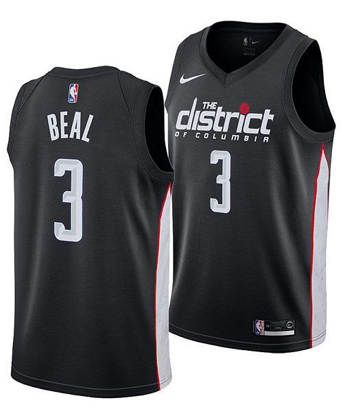 8a1303d5 Nike Men's Bradley Beal Washington Wizards City Swingman Jersey 2018 ...