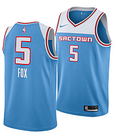 Nike Men's DeAaron Fox Sacramento Kings City Swingman Jersey 2018