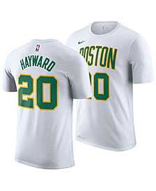 Nike Men's Gordon Hayward Boston Celtics City Player T-Shirt 2018