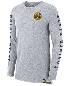 Nike Men's Golden State Warriors City Elevated Long Sleeve Dry T-Shirt