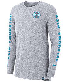 Nike Men's Oklahoma City Thunder City Elevated Long Sleeve Dry T-Shirt