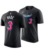 bade814c3 Nike Men s Dwyane Wade Miami Heat City Player T-Shirt 2018