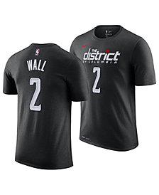 Nike Men's John Wall Washington Wizards City Player T-Shirt 2018