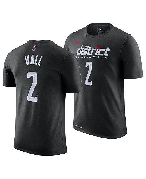 246c0684b ... Nike Men s John Wall Washington Wizards City Player T-Shirt 2018 ...