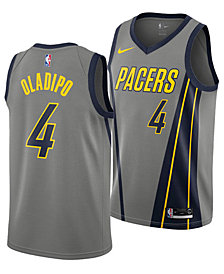 Nike Victor Oladipo Indiana Pacers City Edition Swingman Jersey 2018, Big Boys (8-20)