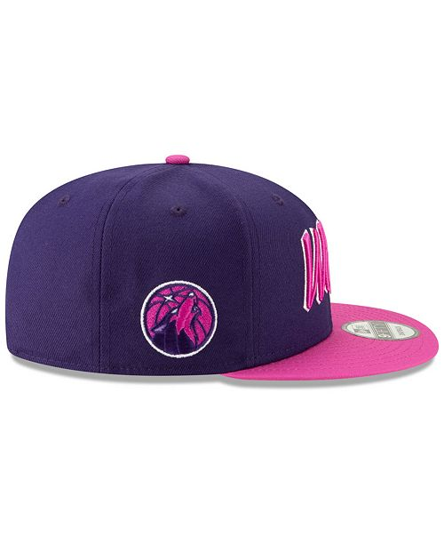 huge selection of 30805 40f4b ... sale new era minnesota timberwolves city series 2.0 9fifty snapback cap  297c6 42298