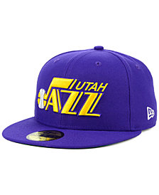 New Era Utah Jazz Hardwood Classic Nights 59FIFTY Fitted Cap