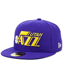 New Era Utah Jazz Hardwood Classic Nights 59FIFTY Fitted Cap