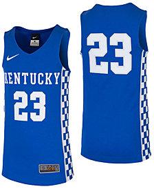 Nike Kentucky Wildcats Replica Basketball Jersey, Big Boys (8-20)