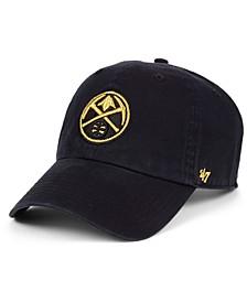 Denver Nuggets Met Gold CLEAN UP Cap