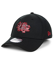 New Era South Carolina Gamecocks Black Pop Flex 39THIRTY Cap