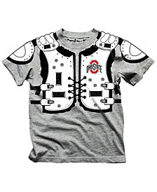 Wes & Willy Ohio State Buckeyes Shoulder Pads T-Shirt, Toddler Boys (2T-4T)
