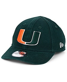 New Era Toddlers' Miami Hurricanes Junior 9TWENTY Cap