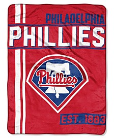 Northwest Company Philadelphia Phillies Micro Raschel Walk Off Blanket