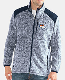 G-III Sports Men's Denver Broncos Back Country Player Front Zip Jacket