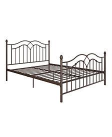 EveryRoom Selene Queen Metal Bed
