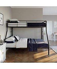 EveryRoom Cassia Full Twin Over Full Bunk Bed