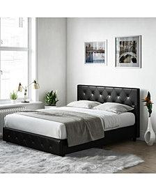 EveryRoom Dana Queen Upholstered Bed
