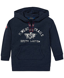 Polo Ralph Lauren Little Girls Graphic Hoodie