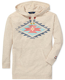 Polo Ralph Lauren Big Girls Southwestern Hoodie