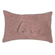 """Celebrations Pillow Beaded """"Love"""" Collection"""