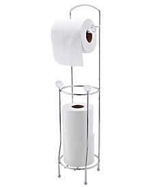 Crystal Design Toilet Paper Dispenser and Holder