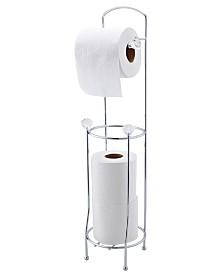 Bath Bliss Crystal Design Toilet Paper Dispenser and Holder