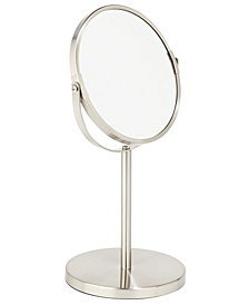 Bath Bliss 7in Dual Sided 5X Magnification Vanity Mirror