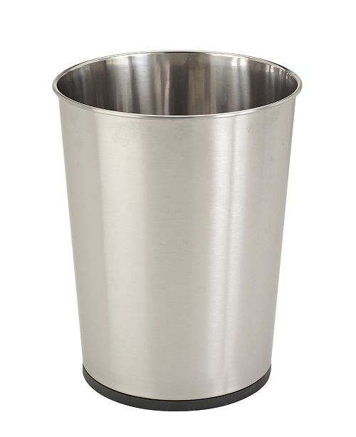 Bath Bliss Stainless Steel Trash Can