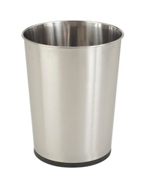 Bath Bliss Stainless Steel Trash Can Bedding