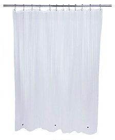 Bath Bliss Eco-Friendly Mildew Resistant Shower Liner