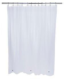 Bath Bliss Eco-Friendly Mildew Resistant Shower Liner