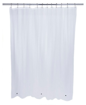 Bath Bliss Eco-Friendly Mildew Resistant Shower Liner Bedding