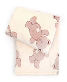 Tadpoles 3D Jacquard Plush Ultra-Soft Baby Blanket