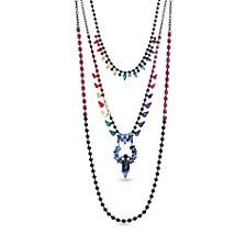 Rainbow 3 Layered Necklace
