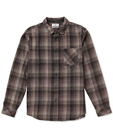 Billabong Men's Freemont Regular-Fit Plaid Flannel Shirt