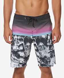"O'Neill Men's Hyperfreak Stretch Printed 20"" Board Shorts"