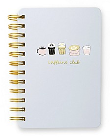Coffee Club Mini Spiral Notebook