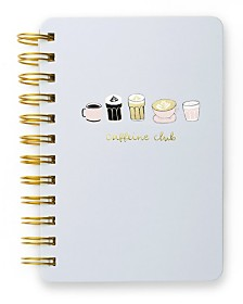Mara-Mi Coffee Club Mini Spiral Notebook
