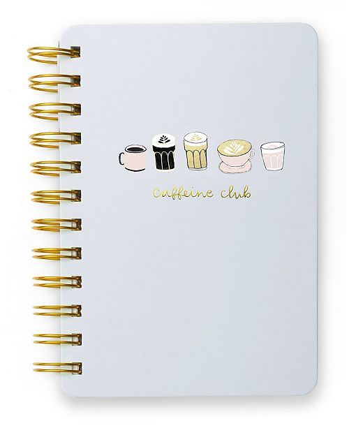 Mara-Mi Coffee Club Mini Spiral Notebook