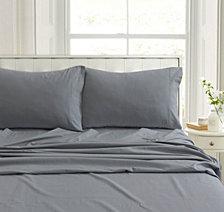 Heavyweight Flannel Solid Standard Pillow Pair Set