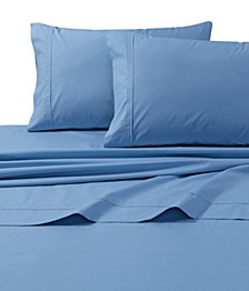 300 Thread Count Cotton Percale Extra Deep Pocket Cal King Sheet Set