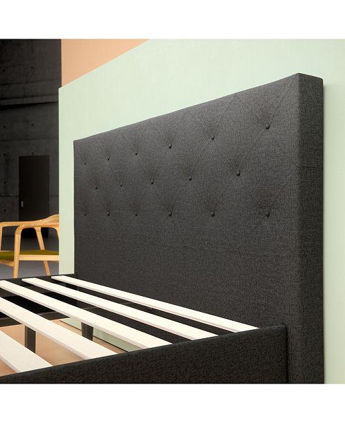 Zinus Shalini Platform Bed Frame Strong Wood Slat