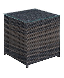 Daley Contemporary Patio End Table