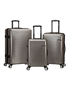 Rockland Horizon 3PCE Spinner Hardside Luggage Set