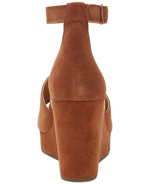 c6bf296249 Lucky Brand Women's Yemisa Wedge Sandals & Reviews - Sandals & Flip ...