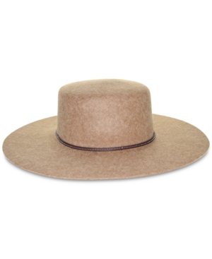 Frye Santa Fe Wool Felt Boater Hat